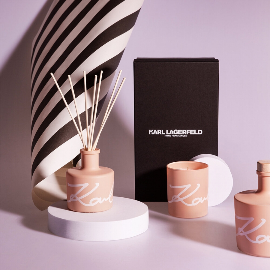 karl lagerfeld news fashion collection home scents fragrances